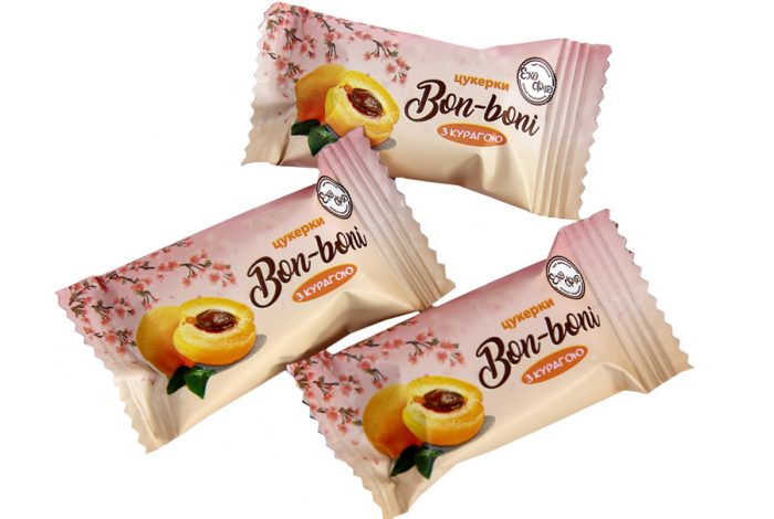 Конфеты «Bon-boni» с курагой