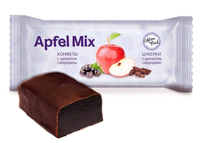 """Конфеты """"Apfel Mix"""" с ароматом смородины"""