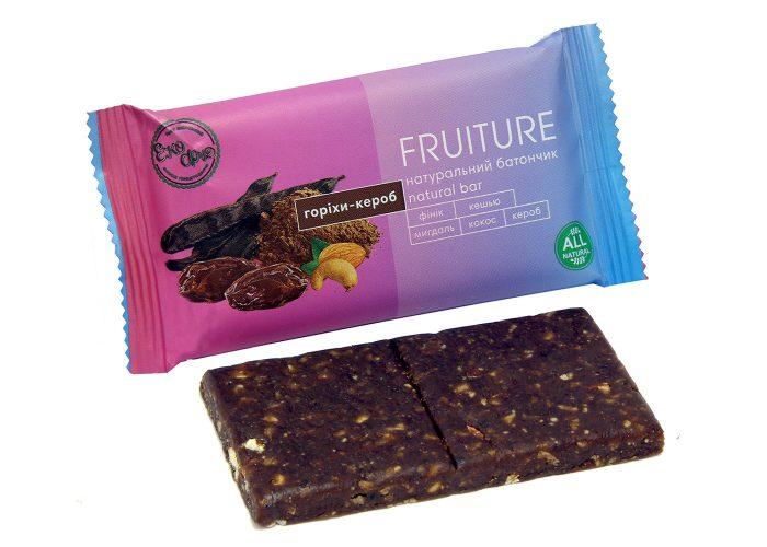 Батончики «Fruiture» орехи-кероб