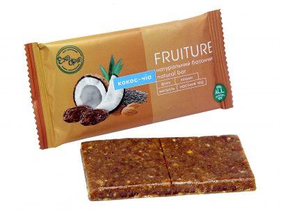 Батончики «Fruiture» кокос-чиа