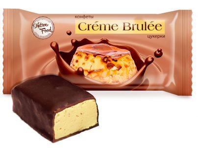 Конфеты «Creme Brulee» со сгущенным молоком и ароматом крем-брюле