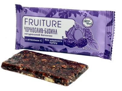 Батончики «Fruiture» чернослив-бузина