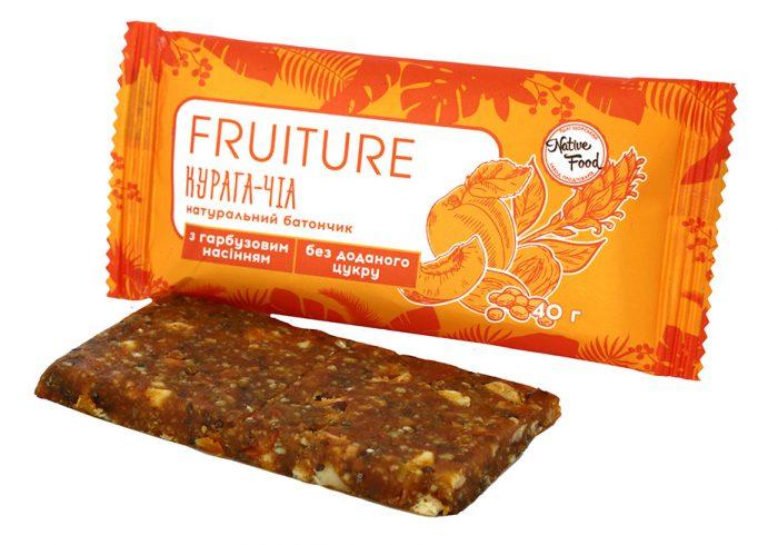Батончики «Fruiture» курага-чиа