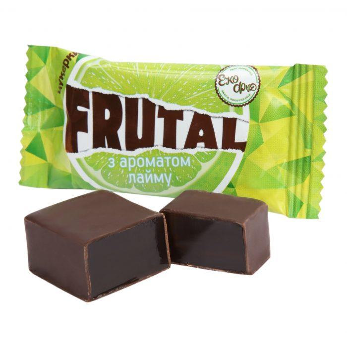 Конфеты «Frutal» с ароматом лайма