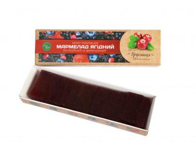 Мармелад ягодный «Брусника»