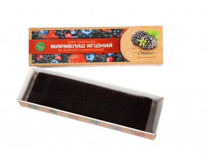 Мармелад ягодный «Ежевика»