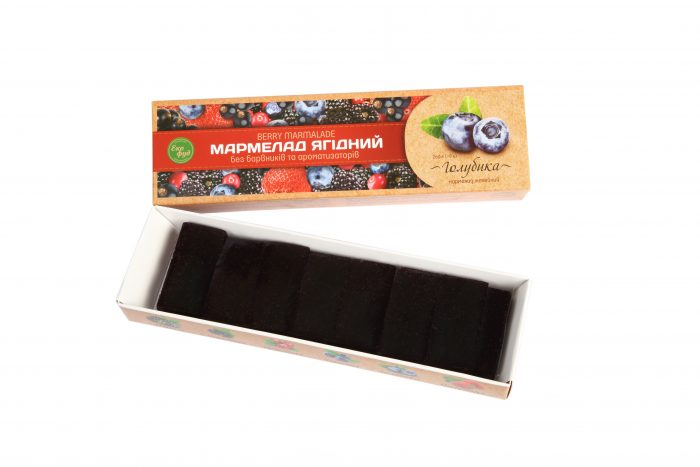 Мармелад ягодный «Голубика»