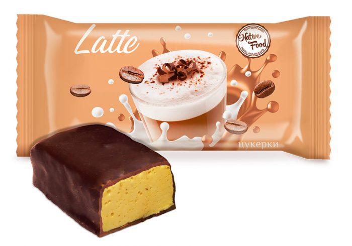 Конфеты «Latte» c натуральным кофе