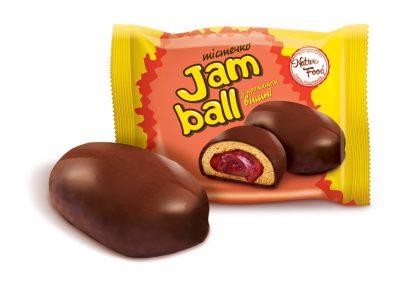 Пирожное «Jam Ball» с ароматом вишни