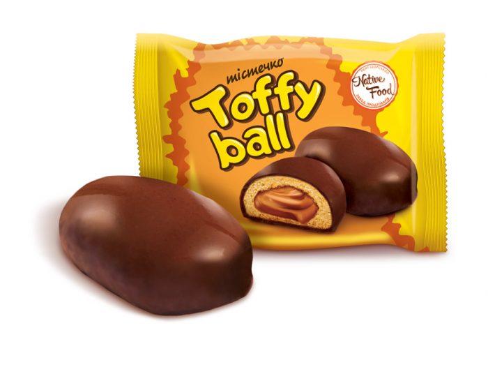 Пирожное «Toffy Ball»