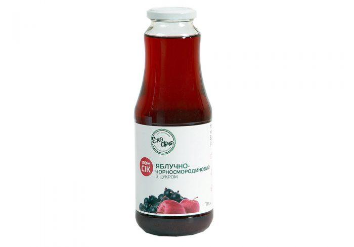 Сок яблочно-чёрносмородиновый