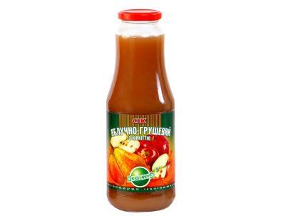 Сок яблочно-грушевый с мякотью