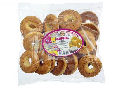 Печенье «Творожное» с куркумой