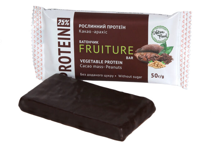 Батончик «Fruiture» Какао-Арахіс