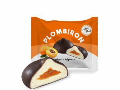 Цукерки «Plombiron» з ароматом абрикоса