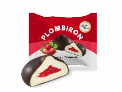 Цукерки «Plombiron» з ароматом полуниці